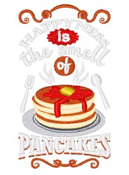 Smell Of Pancakes embroidery design