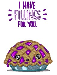 Fillings For You embroidery design