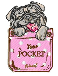 Your Pocket embroidery design