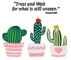 Romans 8:24 embroidery design