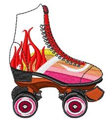 Roller Skate embroidery design