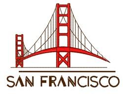 San Francisco embroidery design