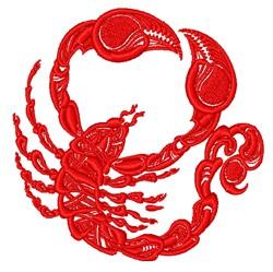 Scorpion embroidery design