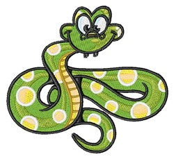 Cartoon Snake embroidery design