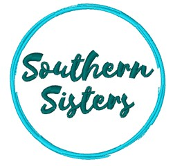Southern Sisters embroidery design