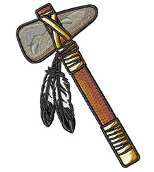 Indian Tomahawk embroidery design