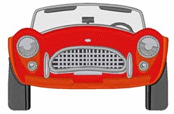 Convertible Car embroidery design