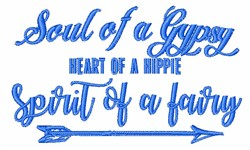 Soul Of Gypsy embroidery design
