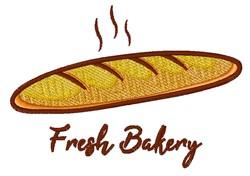 Fresh Bakery embroidery design