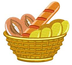 Bread Basket embroidery design