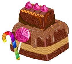 Chocolate Cake embroidery design