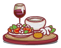 Food And Drink embroidery design
