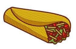 Burrito embroidery design