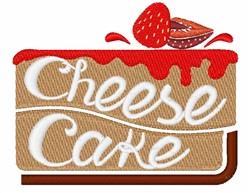 Cheese Cake embroidery design