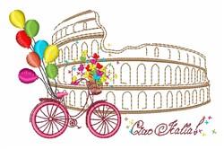 Ciao Iralia embroidery design