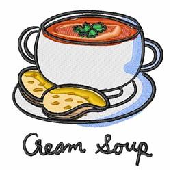 Cream Soup embroidery design