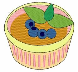 Blueberry Custard embroidery design