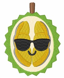 Durian Fruit embroidery design