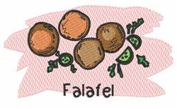 Falafel embroidery design