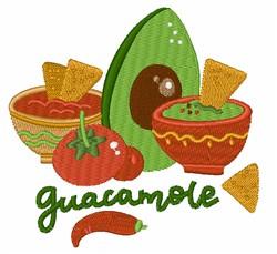 Guacamole embroidery design