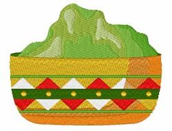 Guacamole Dip embroidery design