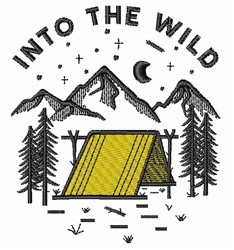 Into The Wild embroidery design