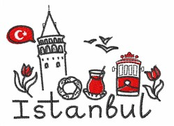 Istanbul embroidery design