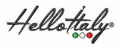Hello Italy embroidery design