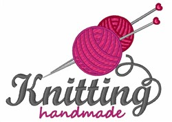 Knitting Handmade embroidery design