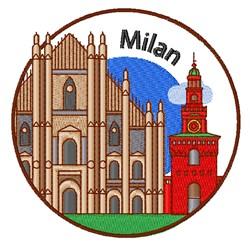 Milan embroidery design