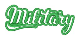 Military embroidery design