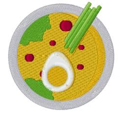 Oriental Soup embroidery design