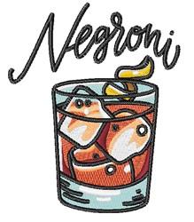 Negroni embroidery design