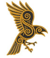 Reven embroidery design