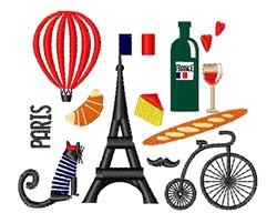 Paris embroidery design