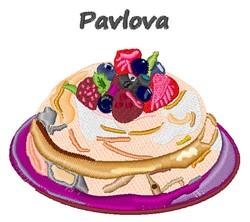 Pavlova embroidery design