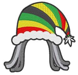 Rainbow Hat embroidery design