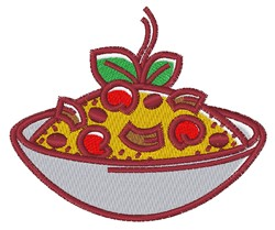 Asian Bowl embroidery design