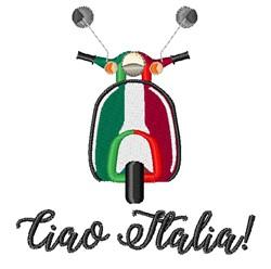 Ciao Italia embroidery design