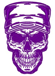 Soldier Skull embroidery design
