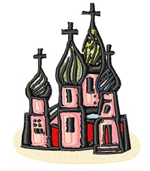 Russian Church embroidery design