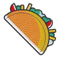 Taco embroidery design