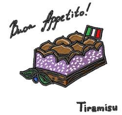 Bon Appetito embroidery design