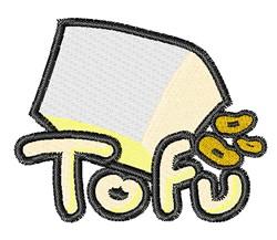 Tofu embroidery design