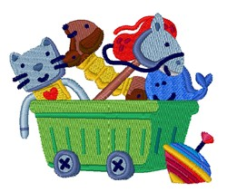 Toy Basket embroidery design