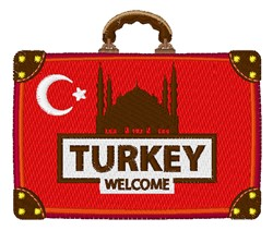 Turkey Welcome embroidery design