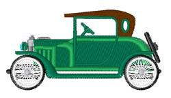 Antique Car embroidery design