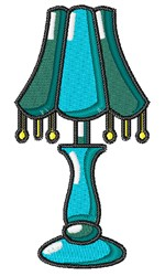Table Lamp embroidery design