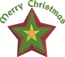 Christmas Star embroidery design