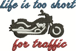 Traffic Safety embroidery design